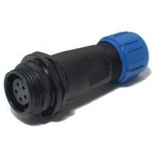 NO-224-19 ЭРА Коннектор кабельный прямой IP68 5-Pin