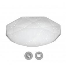Управляемый светодиодный светильник ALMAZ 60W R-500-SHINY/WHITE-220V-IP44 /2019