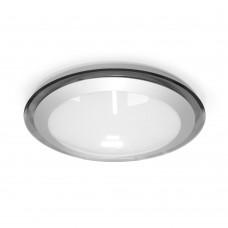 Накладной светодиодный светильник ALR-16  AC170-265V 16W d330мм*H70мм Холодный белый 1400lm (Серый корпус)