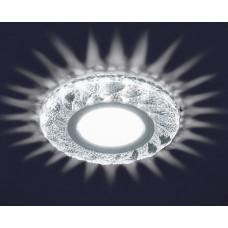 Светодиодный точечный светильник ES-907/GX53-125-4W/NW-CLEAR/CLEAR-220-IP20
