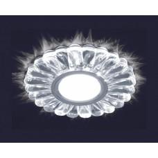 Светодиодный точечный светильник ES-902/GX53-125-4W/NW-CLEAR/CLEAR-220-IP20