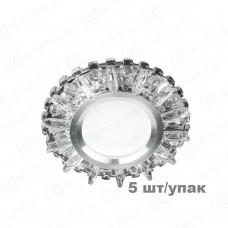 (блистер 5) Светодиодный точечный светильник ES-910/MR16-98-3W/CW-CLEAR/CLEAR-220-IP20 /2019