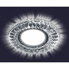 Светодиодный точечный светильник ES-906/GX53-125-4W/NW-CLEAR/CLEAR-220-IP20