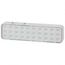 DBA-102-0-20 ЭРА Светильник светодиодный аварийный непостоянный 30LED 5ч IP20 выход