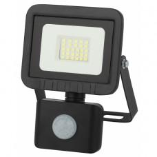 LPR-041-2-65K-020 ЭРА Прожектор светодиодный уличный 20Вт 1600Лм 6500К датчик регулир 100x130x45