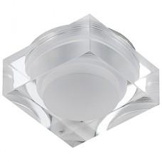 "DK D2 Светильник ЭРА декор ""LED светильник квадратный"" 3LED*1W,280Lm,3200K ,белый"