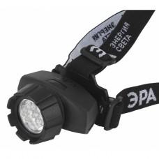 GB-604 Фонарь ЭРА налобный [18xLED, 3xAAA, 4 реж., черный, бл]
