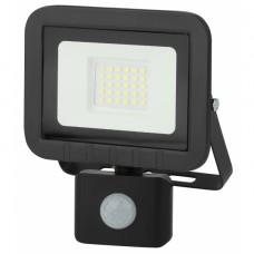 LPR-041-2-65K-030 ЭРА Прожектор светодиодный уличный 30Вт 2400Лм 6500К датчик регулир 135x148x45