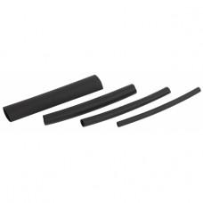 ЭРА Термоусаживаемая трубка клеевая ТТКнг (3:1) 3, 6, 9, 12 черная (по 2 шт. 10см)