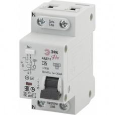 ЭРА Pro Автоматический выключатель дифференциального тока NO-901-88 АВДТ2 C25А 30мА 1P+N тип AC
