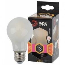 F-LED A60-13W-827-E27 frost ЭРА (филамент, груша мат., 13Вт, тепл, Е27)