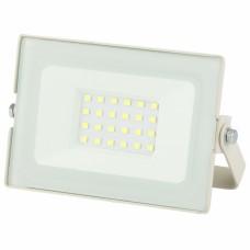 LPR-031-0-65K-020 ЭРА Прожектор светодиодный уличный 20Вт 1600Лм 6500К 122x75x35 белый
