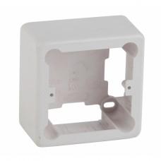 ЭРА Коробка установочная 1-местная под кабель-канал КУK 85х85х42мм белая IP20