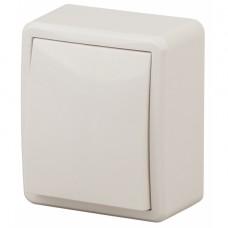 11-1202-02 ЭРА Выключатель с подсветкой, 10АХ-250В, IP20, ОУ, Эра Эксперт, сл.кость