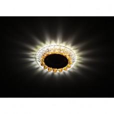DK LD19 SL OR/WH Светильник ЭРА декор cо светодиодной подсветкой MR16, прозрачный оранжевый
