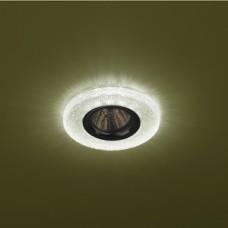 DK LD1 GR Светильник ЭРА декор cо светодиодной подсветкой, зеленый