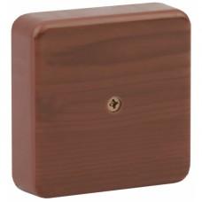 ЭРА Коробка распаячная 100х100х30 (без клеммы) дуб IP40 ЭРА