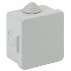 ЭРА Коробка распаячн. открытой установки КОР 65х65х50мм с гермовводами 4 вх. IP54