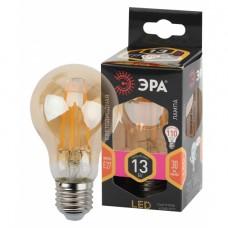 F-LED A60-13W-827-E27 gold ЭРА (филамент, груша золот., 13Вт, тепл, Е27)