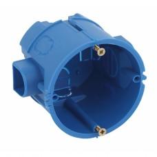 ЭРА Коробка установочная КУТС 68х60мм для твердых стен саморез., стыковочные узлы синяя IP20