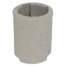 ЭРА Патрон Е14 подвесной,керамика, белый (x50)