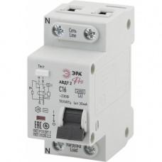 ЭРА Pro Автоматический выключатель дифференциального тока NO-901-90 АВДТ2 16А 30мА 1P+N тип AC