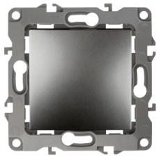 12-1001-12 ЭРА Выключатель, 10АХ-250В, IP20, без м.лапок, Эра12, графит