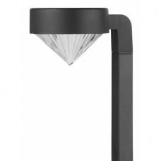 SL-PL42-DMD ЭРА Садовый светильник на солнечной батарее, пластик, черный, 42 см