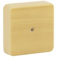 ЭРА Коробка распаячная 100х100х30 (без клеммы) сосна IP40 ЭРА