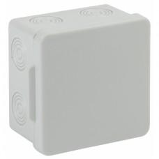ЭРА Коробка распаячн. открытой установки КОР 80х80х50мм без гермовводов 7 вх. IP54