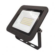 LPR-061-0-65K-030 ЭРА Прожектор светодиодный уличный 30Вт 2800Лм 6500К 160x135x30