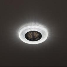 DK LD1 WH Светильник ЭРА декор cо светодиодной подсветкой, прозрачный