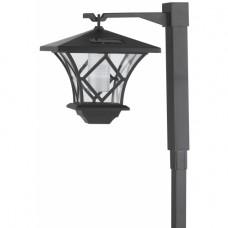 SL-PL155-PST ЭРА Садовый светильник на солнечной батарее, пластик, черный, 155 см