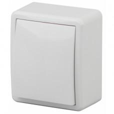 11-1203-01 ЭРА Переключатель, 10АХ-250В, IP20, ОУ, Эра Эксперт, белый