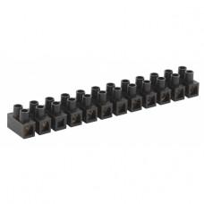 ЭРА NO-223-10 Зажим винтовой ЗВИ-15 полипропилен 1.5-6мм? 12пар 100°С черный (10/400/
