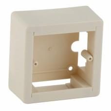 ЭРА Коробка установочная универсальная под кабель-канал КУK 88х88х44мм белая IP20