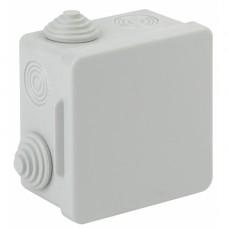 ЭРА Коробка распаячн. открытой установки КОР 80х80х50мм с гермовводами 7 вх. IP54