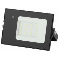 LPR-041-1-65K-010 ЭРА Прожектор светодиодный уличный 10Вт 700Лм 6500К датчик нерегулир 122x75x35