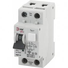 ЭРА Pro Автоматический выключатель дифференциального тока NO-901-92 АВДТ 63 C40 30мА 1P+N тип A (90/