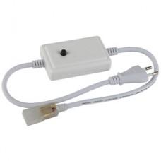 ЭРА RGBcontroller-220-A06 контроллер для ленты на 220V, управление одной кнопкой
