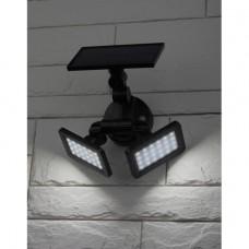 ERAFS020-41 ЭРА Фасадный светильник с двумя световыми панелями на солнечной батарее,2х24LED,180lm