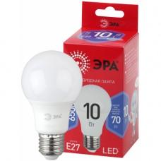 LED A60-10W-865-E27 R ЭРА (диод, груша, 10Вт, хол, E27)