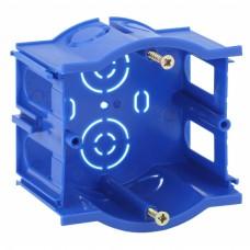 ЭРА Подрозетник промежуточный UniPost 68х45мм для твердых стен синий IP30