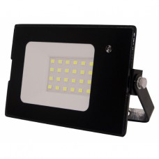 LPR-041-1-65K-030 ЭРА Прожектор светодиодный уличный 30Вт 2100Лм 6500К датчик нерегулир 139x104x35 (