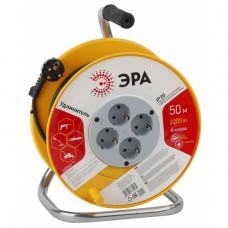 RP-4-3x1-50m ЭРА RP-4-3x1-50m Удлин-ль силов ЭРА пласт. катушка с заземл. 50м 4гн 3х1мм2