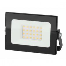 LPR-021-0-30K-020 ЭРА Прожектор светодиодный уличный 20Вт 1600Лм 3000К 136х53х188