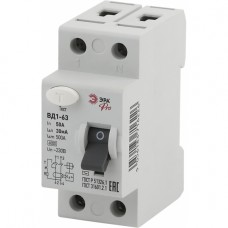 ЭРА Pro Устройство защитного отключения NO-902-41 УЗО ВД1-63 1P+N 50А 30мА