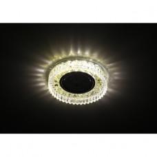 DK LD14 SL/WH Светильник ЭРА декор cо светодиодной подсветкой MR16, прозрачный