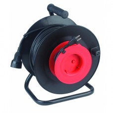 RP-1-2x1.0-30m Удлин-ль силов ЭРА пласт. катушка без заземл. 30м 1гн 2х1мм2