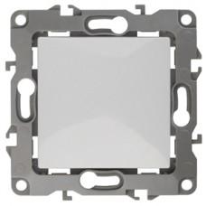 12-1001-01 ЭРА Выключатель, 10АХ-250В, IP20, без м.лапок, Эра12, белый